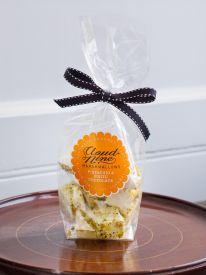 Pistachio and White Chocolate Marshmallows
